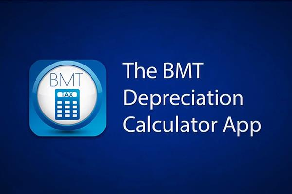 Tax-Depreciation-Calculator